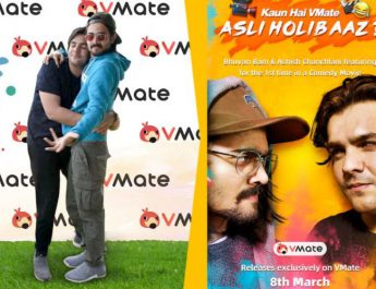 First Look of VMateAsliHolibaaz Short Film - Starring Bhuvan Bam and Ashish Chanchlani released