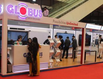 Globus Infocom participated in 3rd Young Superintendents of Police Conference Stall