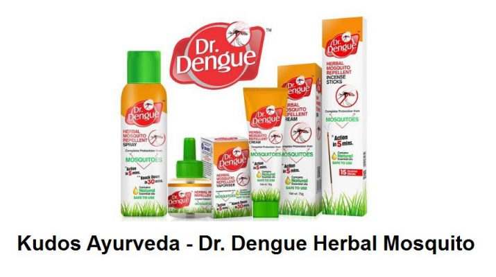 Kudos Ayurveda - Dr Dengue Herbal Mosquito Repellent