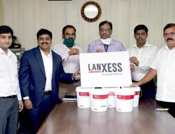 Lanxess India donates disinfectants to Thane Municipal Corporation