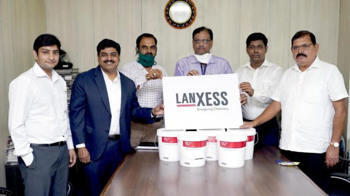 Lanxess India donates disinfectants to Thane Municipal Corporation