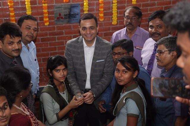 Mitsubishi Electric initiates Clean Water and Sanitation Program in Kolkata - School Students Ori