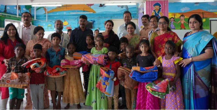 Neuberg distributes 200 blankets at pediatric wards of Institute of Child Health and Hospital in Chennai 4