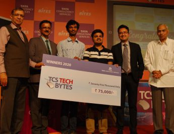 PES University Bangalore Win TCS TechBytes 2020