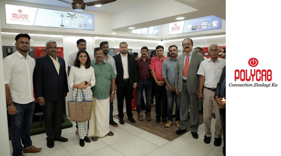 Polycab India Ltd launches Experience Centre and Branch Office at Trivandrum - the capital of Kerala