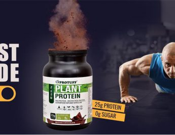 Prime Plant Protein Supplement Protuff by Aarnix Healthsciences
