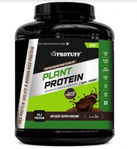 Prime Plant Protein Supplement Protuff by Aarnix Healthsciences Bottle