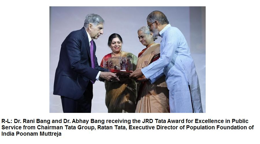 Ratan Tata at commemoration of the 50thyear ofPopulation Foundation of India