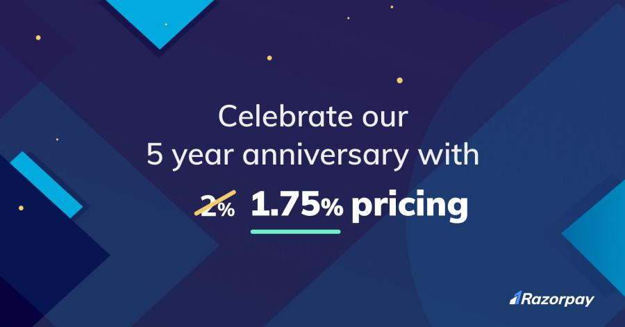 Razorpay - 5 Year Offer