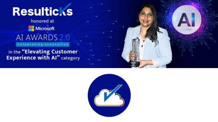 Resulticks captures honors at Microsoft AI Awards 2