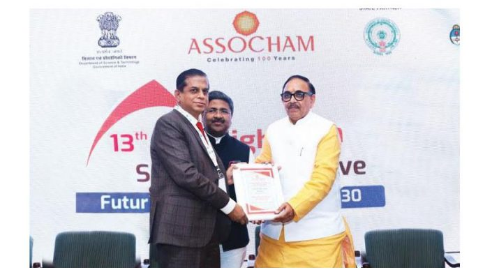 SRM Institute of Hotel Management Bags Most Preferred Hotel Management Institute Award from ASSOCHAM for 2020