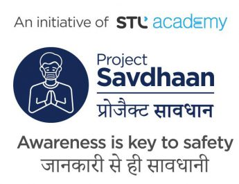 STL forms Project Savdhaan - corona awarness - STL University