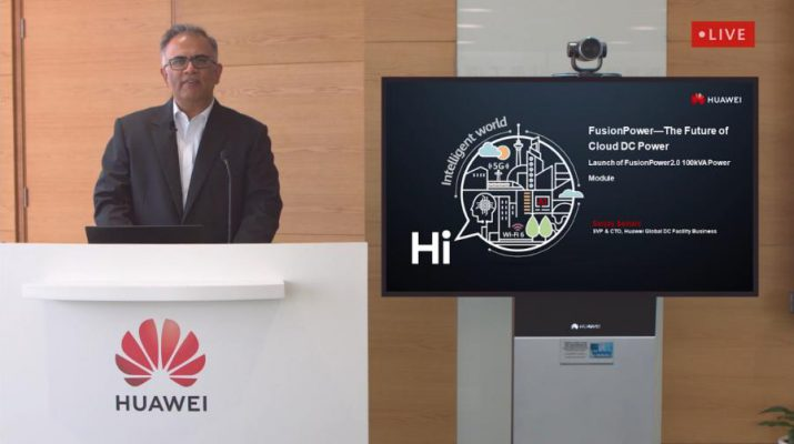 SanJay Kumar Sainani - SVP and CTO of Huawei Global Data Center Facility Business