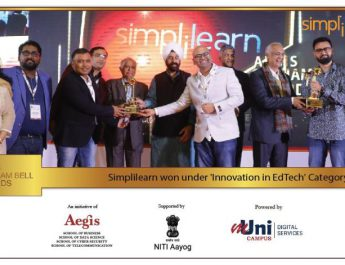 Simplilearn Wins 10th Aegis Graham Bell Award for Innovation in Edtech