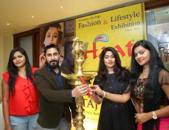 Tollywood Actress Sashikala and Shravani Reddy inaugurated The Haat – Premium Heritage Fashion and Lifestyle