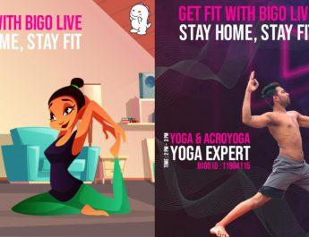 Bigo Live - virtual fitness classes for free