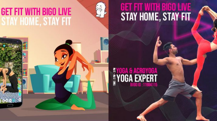 Bigo Live - virtual fitness classes for free