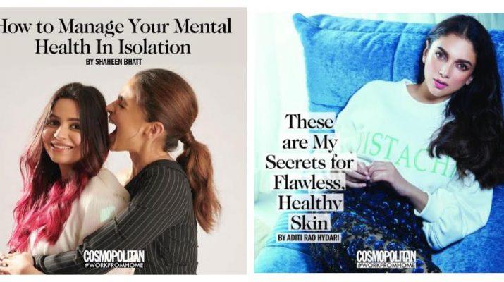Cosmopolitan Magazine WorkFromHome