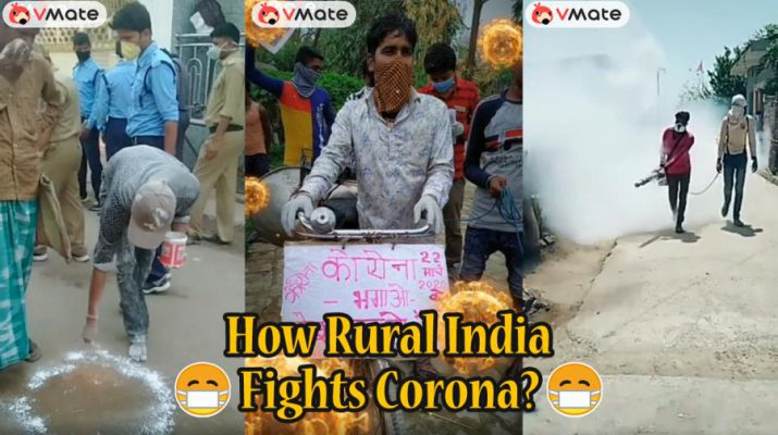 Creators on short video platform VMate show how rural India is fighting Covid-19 aka Coronavirus
