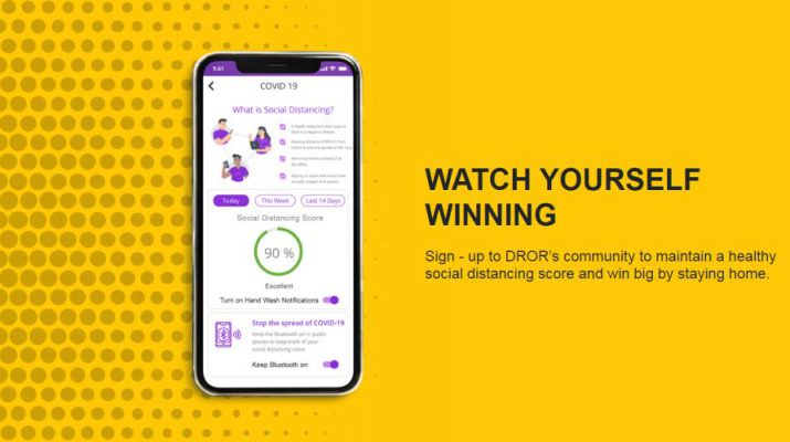 DROR - MobiKwik - Social Distancing Contest Page