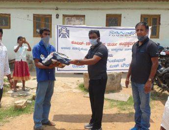 Food Grain kit distribution Sansera