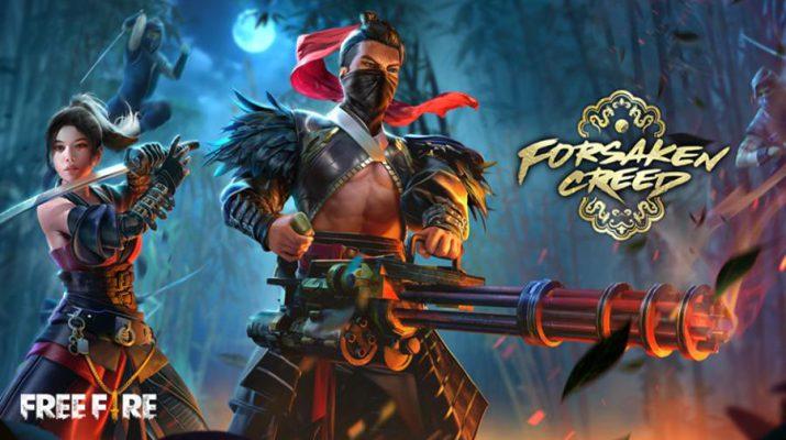 Free Fire - Elite Pass - Forsaken Creed