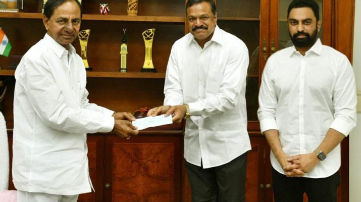 Gangavaram Port Limited contributes INR 1 Crore to Telangana Chief Minister Relief Fund