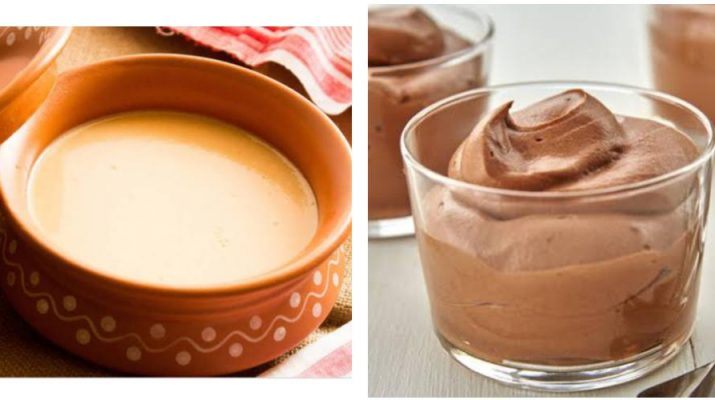 Homemade Dessert Recipes - Chocolate Mousse and Apple Baked Yogurt