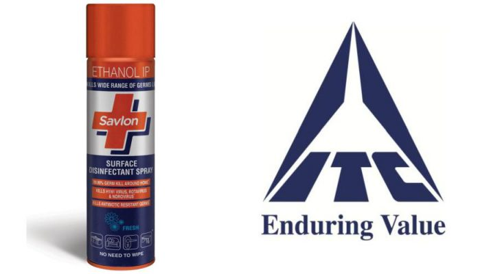 ITC Savlon Surface Disinfectant Spray