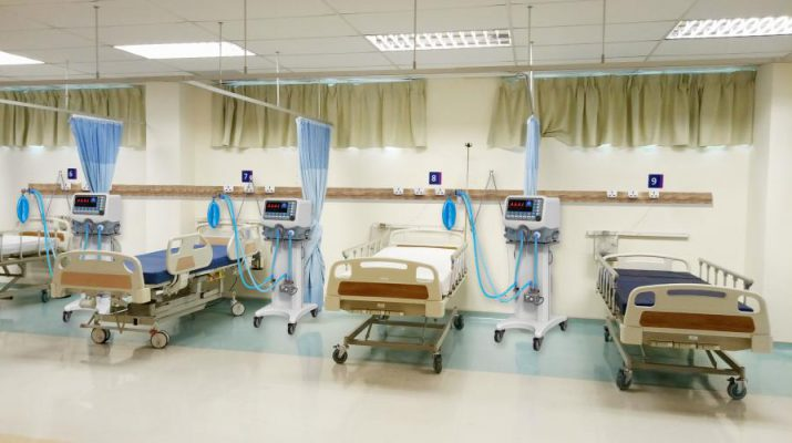 Indyro power track in hospital