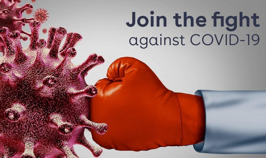 Join the fight against Covid-19
