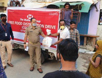 Muthoot Group free food distribution drive
