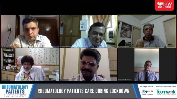 Rheumatoid Arthritis Patients during Lockdown at IHW Councils Web Summit