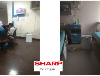SHARP Air Purifier in Safdarjung Hospital