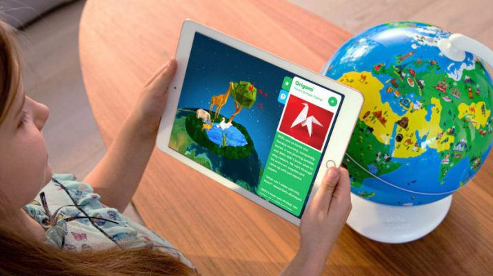 Shifu Orboot AR globe educational