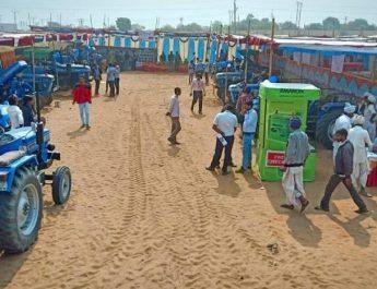 Sonalika Tractors Expo