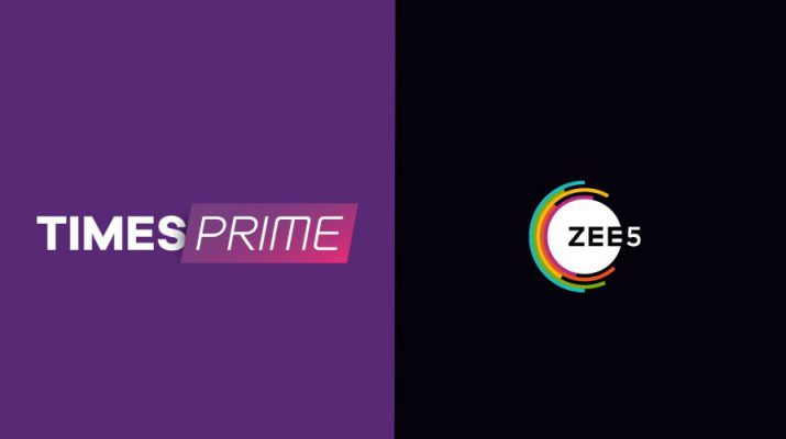 Times Prime - Zee5 Complimentary Subscription