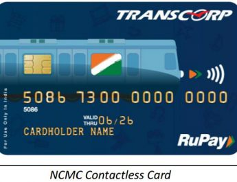 Transcorp International - Pre paid cards - NCMC Contactless Card - Rupay