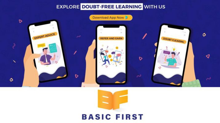 BasicFirst Doubt-Free Learning App