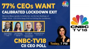 CNBC-TV18s biggest CEO Poll with CII