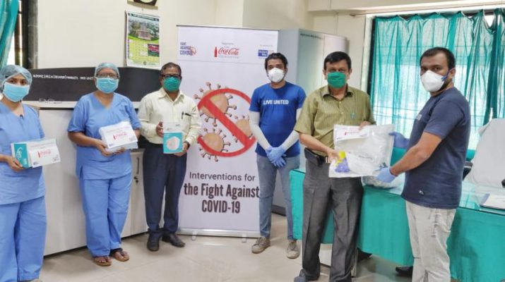 Coca-Cola partners with United Way Mumbai to provide PPE and hygiene aid kits