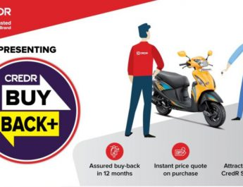 CredR Launches Buyback Program for the First Time in Used Two Wheeler Segment in Hyderabad
