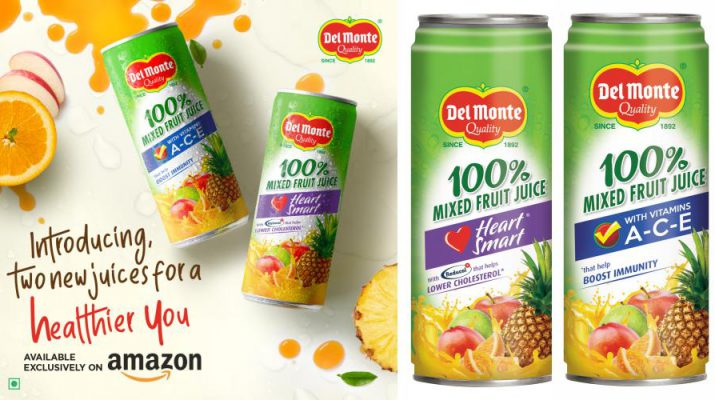 Del Monte - Juice To Reduce Cholesterol And Del Monte A-C-E To Boost Immunity