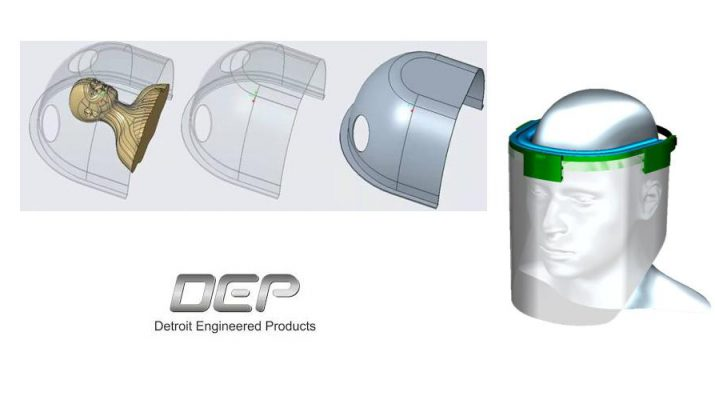 Detroit Engineered Products - personal protection medical devices - PPE