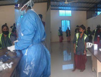 Fortis Hospital - Rajajinagar conducts COVID-19 screening for BBMP workers