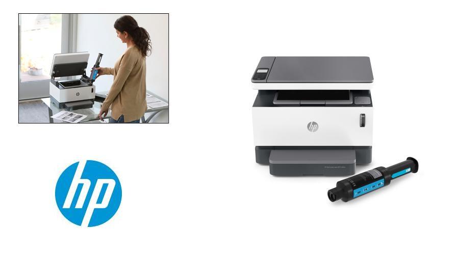 HP Neverstop 1200 with DIY toner kit
