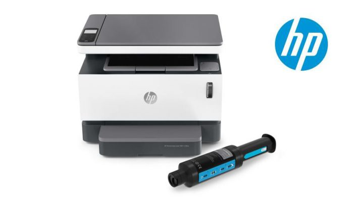 HP Neverstop 1200 with toner kit