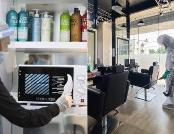 Lakme Salon - Safety Hygiene Measures - Covid19