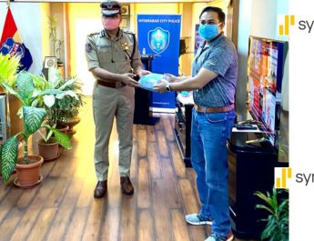 Synchronys Donation of Face Masks to Telangana State Police Rises to 15000