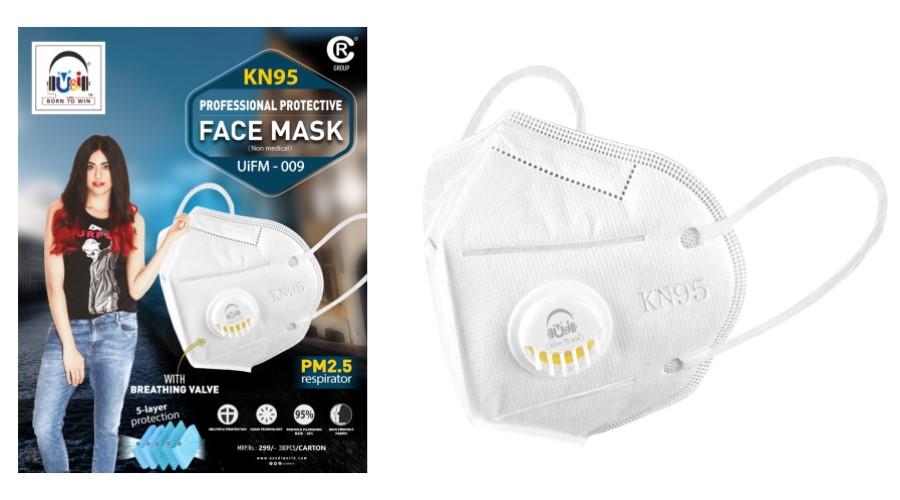 UandI KN95 Face Mask - Adah Sharma Brand Ambassador 2